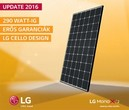 LG Monokristályos napelem